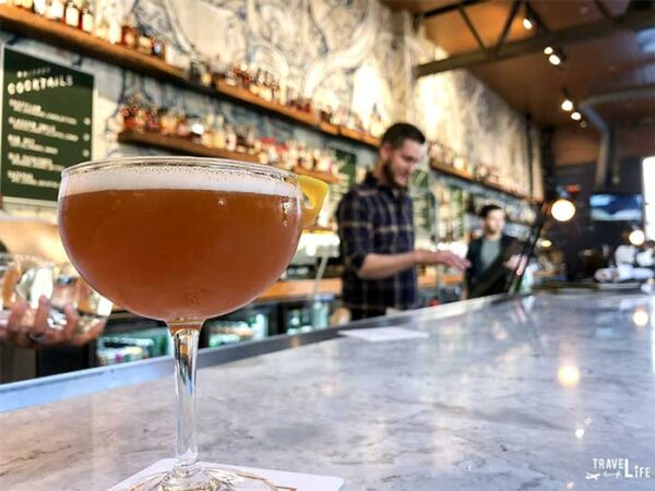 Day Date Things to Do in Raleigh Whiskey Kitchen Cocktail