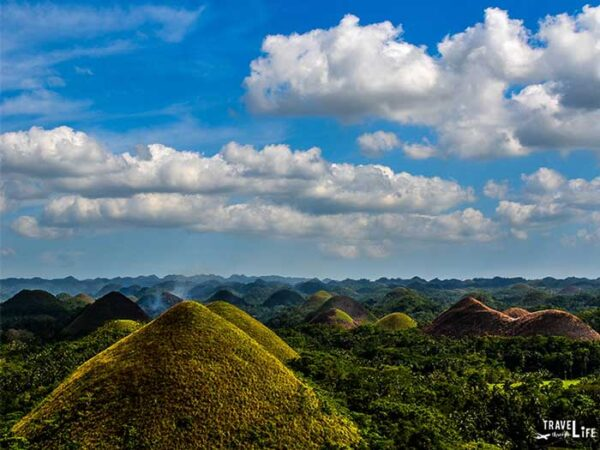 Places to Visit in Southeast Asia Bohol Chocolate Hills The Philippines Image