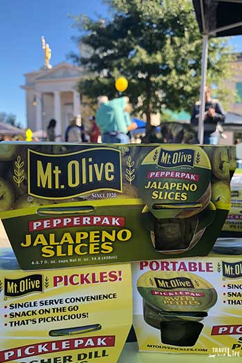 Spring Things to Do in North Carolina Eat Pickles in Mt Olive Image