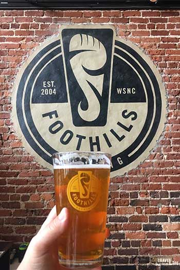 Spring Things to Do in North Carolina Foothills Brewing Winston-Salem NC Image