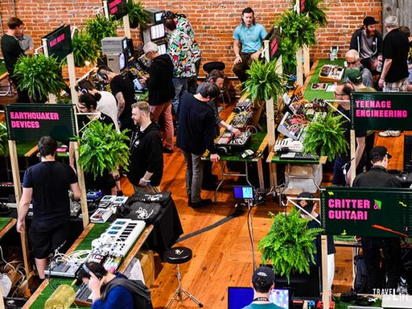 Spring Things to Do in North Carolina Moogfest Durham NC Image