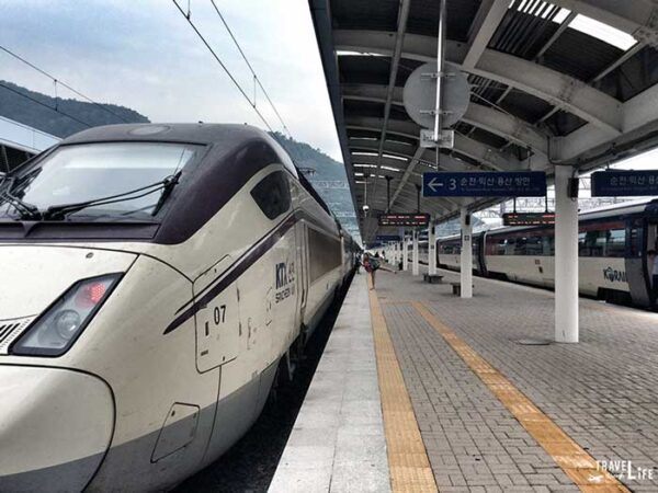 Travel to South Korea Things to Know Trains Image