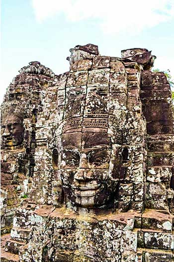 Places to Visit in Cambodia Travel Guide Bayon Temple Image