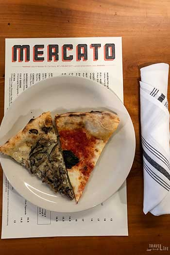 Restaurants in Carrboro NC Pizzeria Mercato Taste Carolina Gourmet Food Tours Image