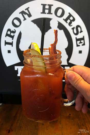 Restaurants in Morgantown WV Iron Horse Tavern Drink Image