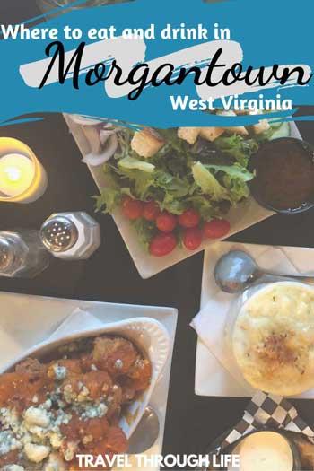Restaurants in Morgantown WV Travel Guide Pin