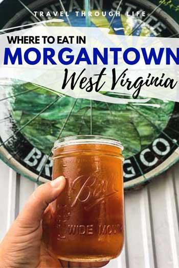Restaurants in Morgantown WV Travel Guide Pinterest Image