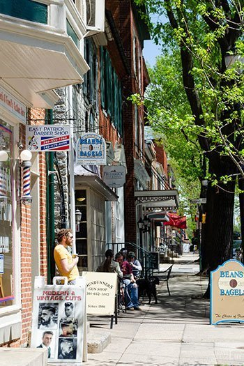 Downtown Frederick MD Image