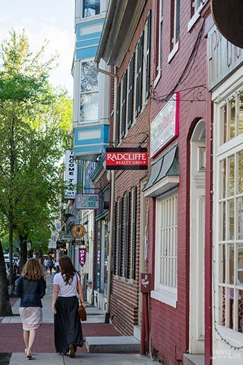 Downtown Frederick Maryland Image