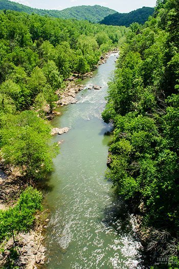Things to do in Roanoke Virginia Roanoke River Gorge Image
