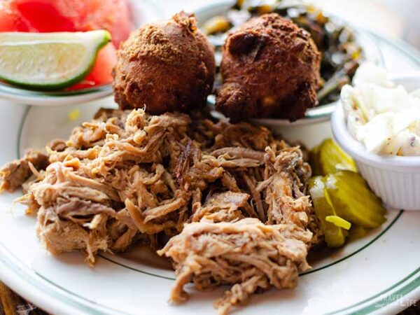 The Best Asheville Restaurants Buxton Hall Barbecue Image