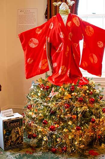 Bethlehem Lights Christmas Trees Image
