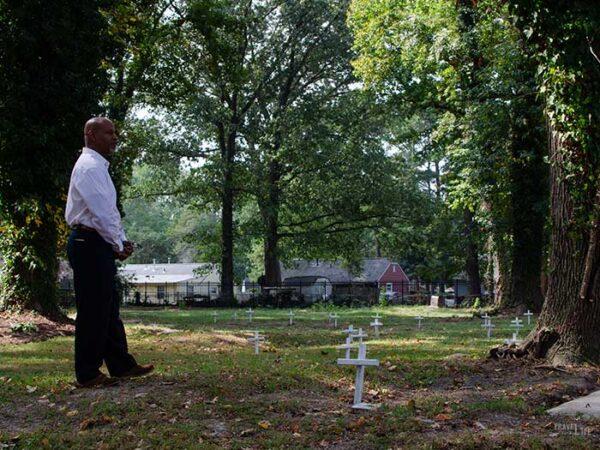 Hampton VA History Tucker Family Cemetery Image