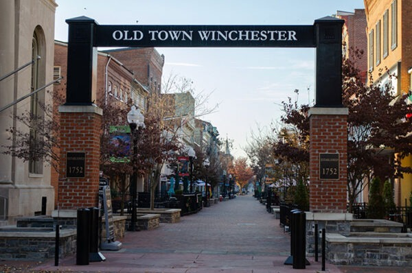 Road Trip through Shenandoah Valley Winchester Old Town Image