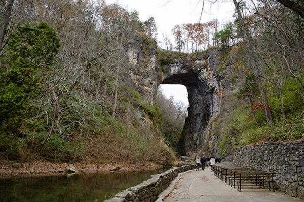 Shenandoah Mountains Virginia Natural Bridge State Park Image