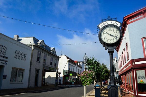 Shenandoah Valley Downtown Front Royal Virginia Image