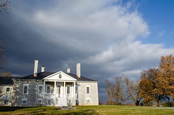 Shenandoah Valley Virginia Belle Grove Plantation Outside Image
