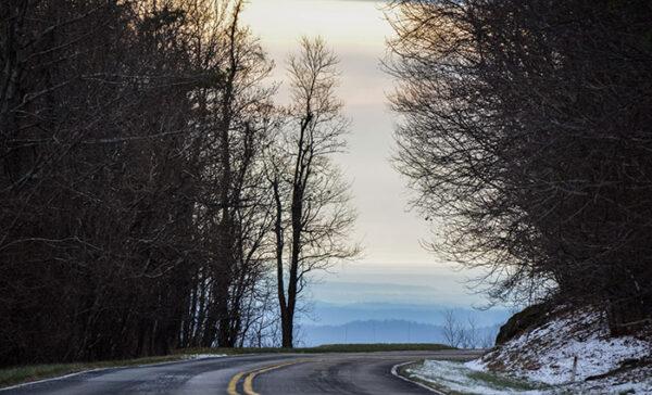 Skyline Drive Shenandoah Valley Image
