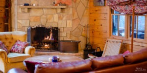 Winter in Raystown Lake PA Fireplace Getaways Featured Image