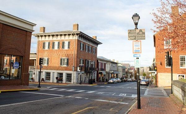 Lexington VA Historic Downtown Image